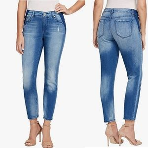 New! Nine West Gramercy Skinny Ankle Jeans Size 4